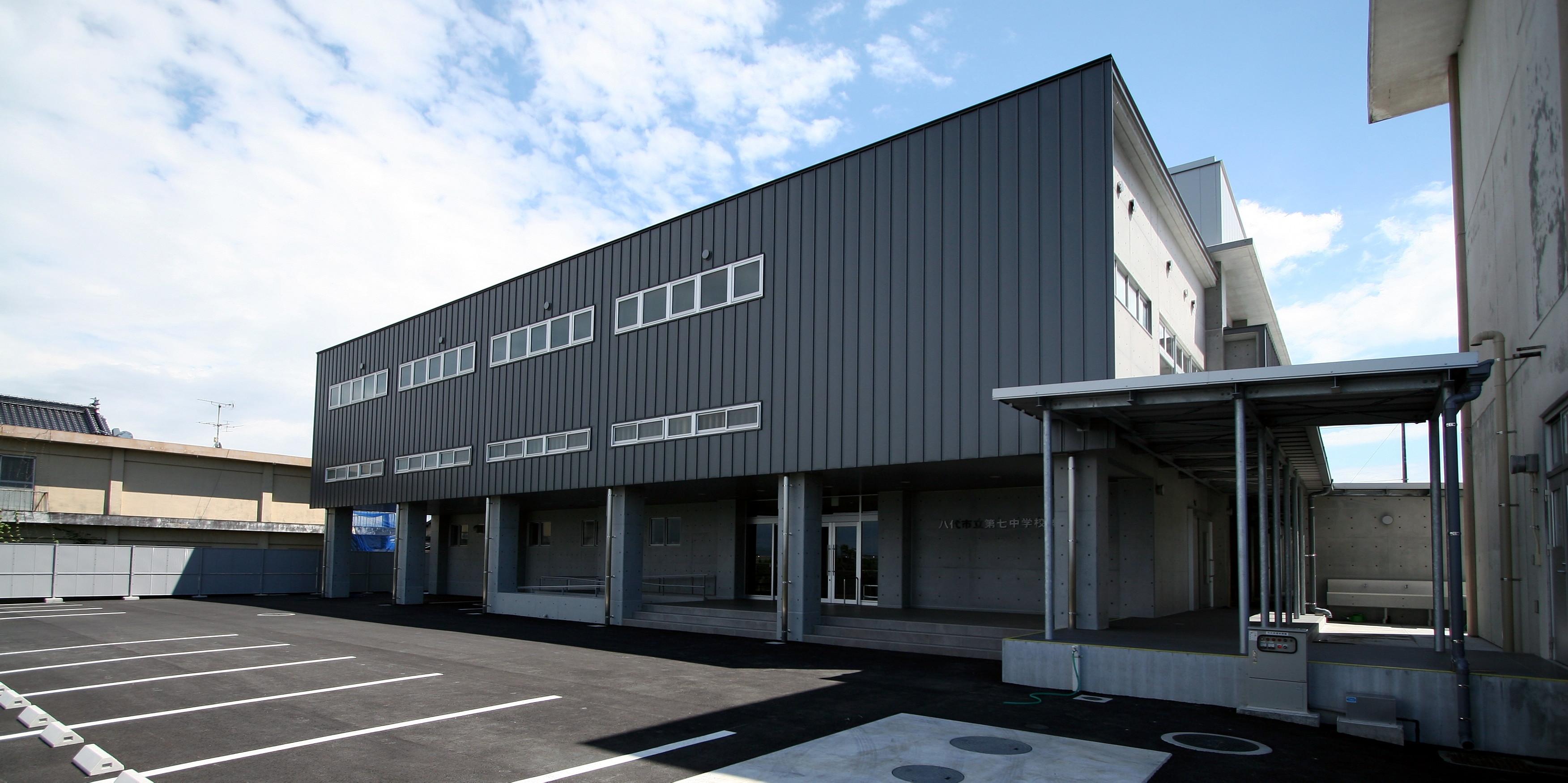 八代市立第七中学校 体育館